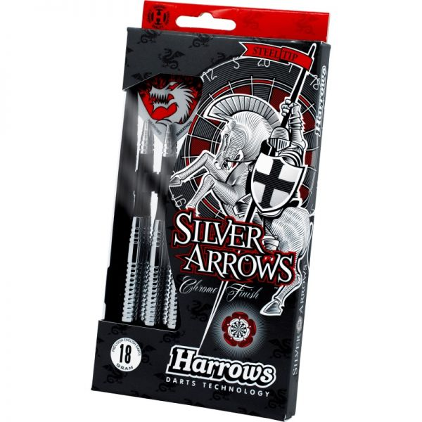 Harrows Silver Arrows Steeldart