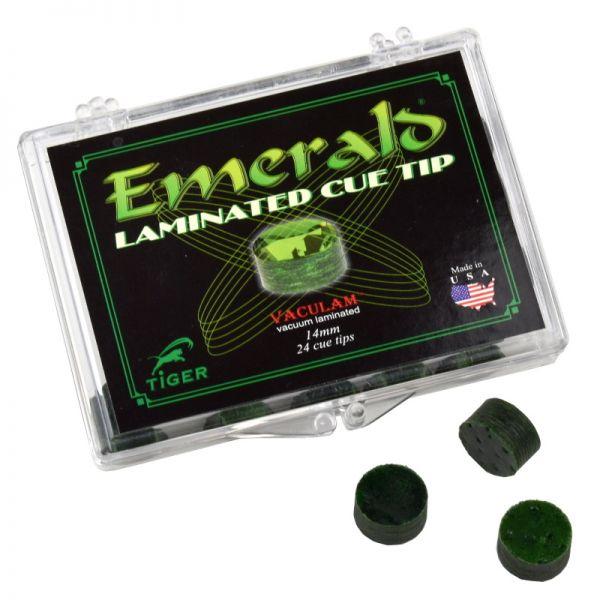 Mehrschicht-Klebeleder Tiger Emerald medium-hart 14 mm