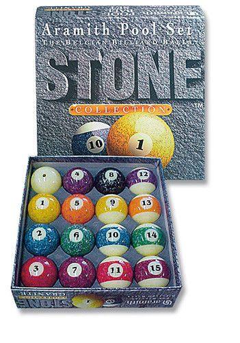 Pool Billard Kugeln Stone Collection 57'
