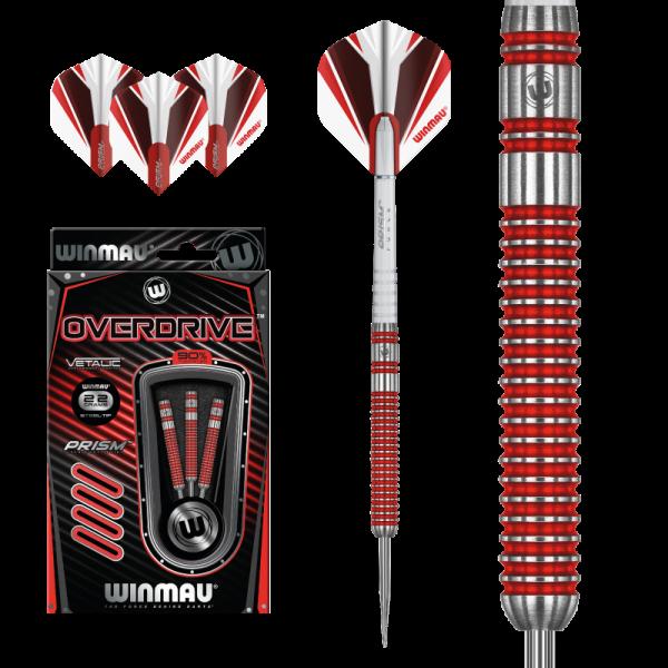 Steeldart Winmau Overdrive 1434 - 22g / 23g / 24g / 25g