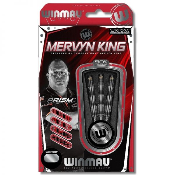 Mervyn King Silver Color Softdart