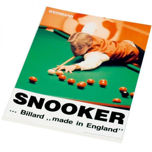 Buch Snooker Made in England, deutsch