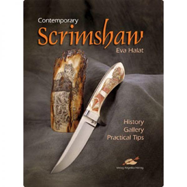 """Buch """"Contemporary Scrimshaw"""", Eva Halat, Englisch"""