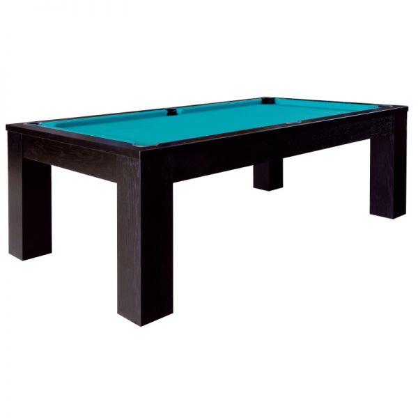 Pool Billard Tisch TRENTO schwarz 6-, 7- oder 8-Fuss-Grösse
