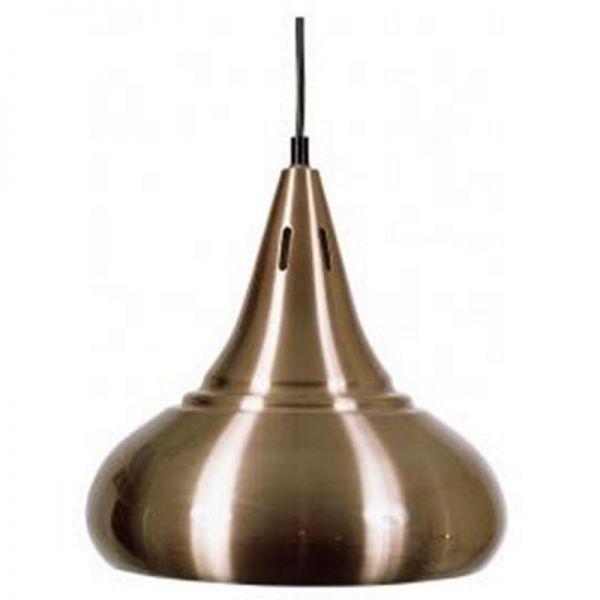 Lampe Zwiebel, kupferfarben