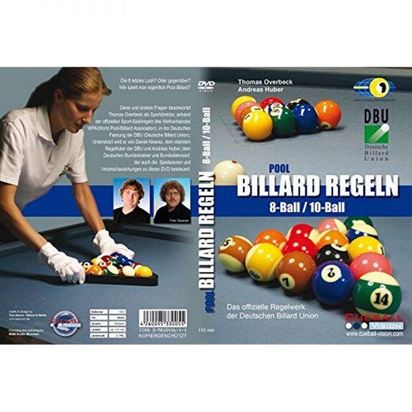 DVD Pool Billard Regeln 8- und 10-Ball