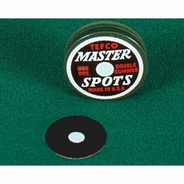Anspielpunkt Tefco Master Spots, verschiedene Durchmesser
