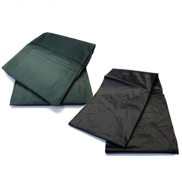 Abdeckplane Nylon elastisch 7 ft schwarz
