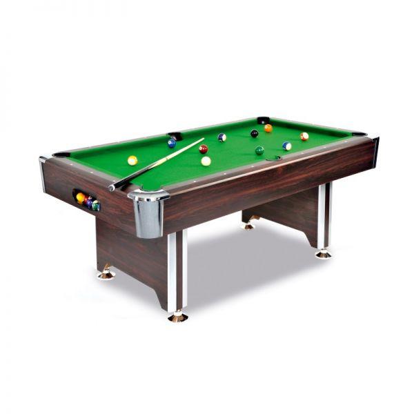 Pool Billard Tisch SEDONA 6 Fuss oder 7 Fuß Grösse