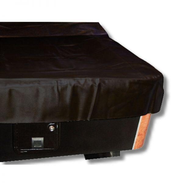 Abdeckplane Luxus, für 9 ft Tische, schwarz