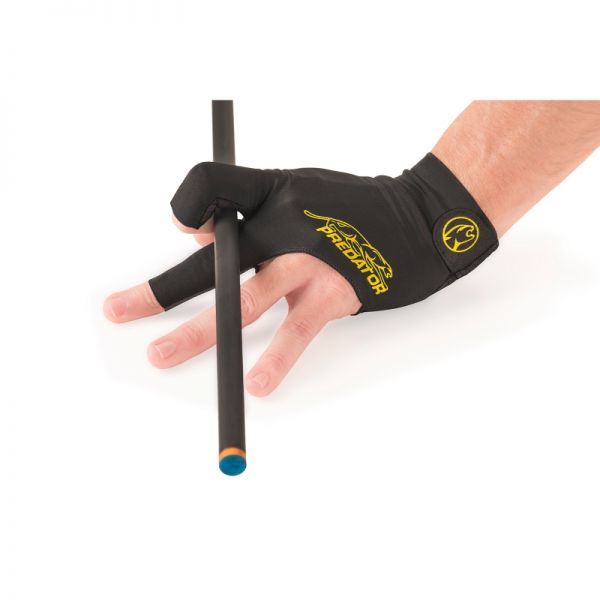 Handschuh Predator Second Skin, schwarz-gelb