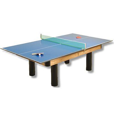 Tischtennis-Auflage für Billardtische bis 8 ft.