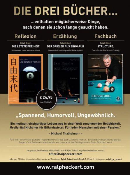 3er Pack Ralph Eckert Bücher, Vorzugspreis