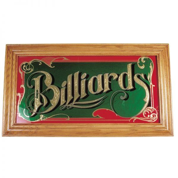 Wandspiegel Billiards, Echtholzrahmen