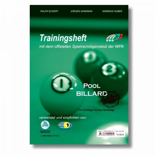 Trainingsheft WPA Pool Stufe 1, Training nach dem PAT System