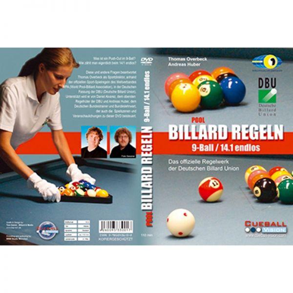 DVD Pool Billard Regeln, 9-Ball und 14/1e