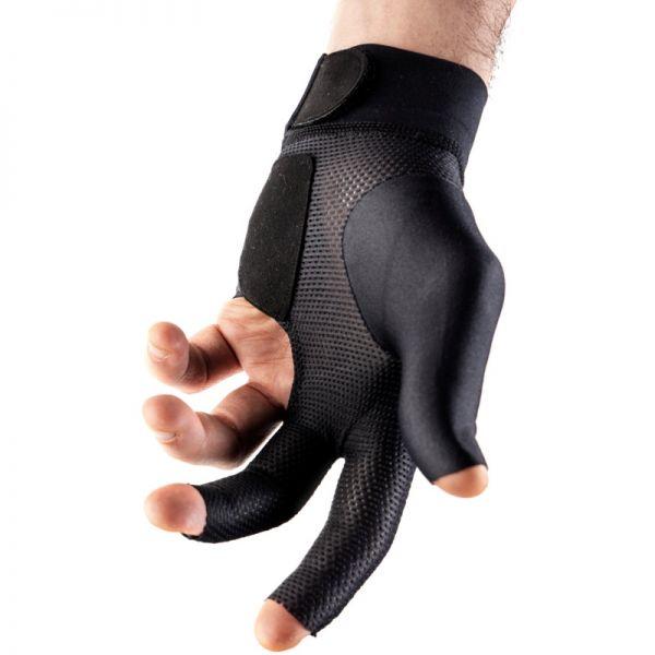 Handschuh Felice fingerless schwarz , beidhändig