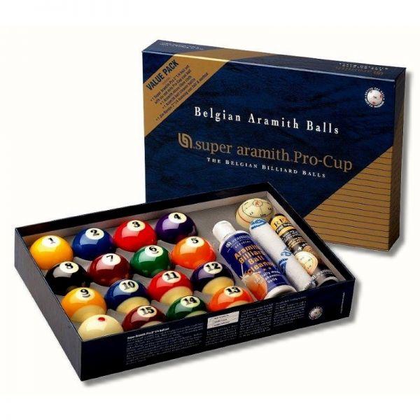 Pool Billard Kugeln Super Aramith Pro-Cup Value Pack