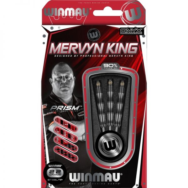 Winmau Mervyn King Silver Color