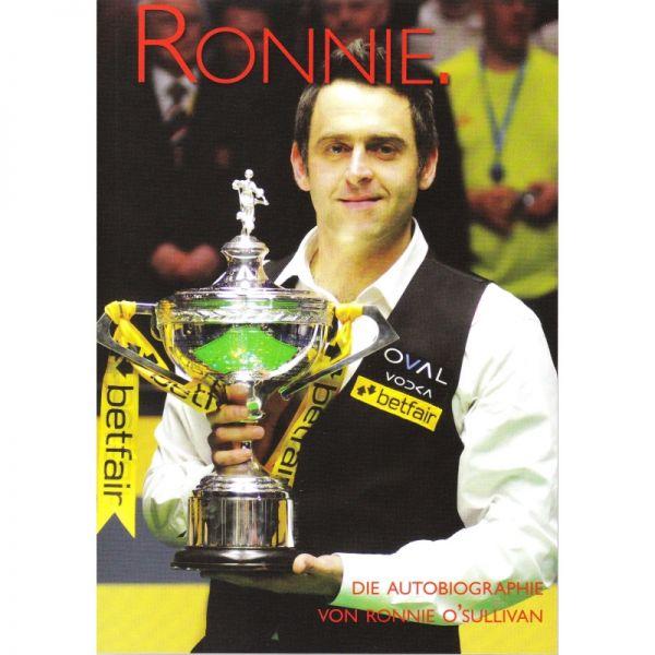 """Buch """"Ronnie - Die Autobiographie von Ronnie O'Sullivan"""""""
