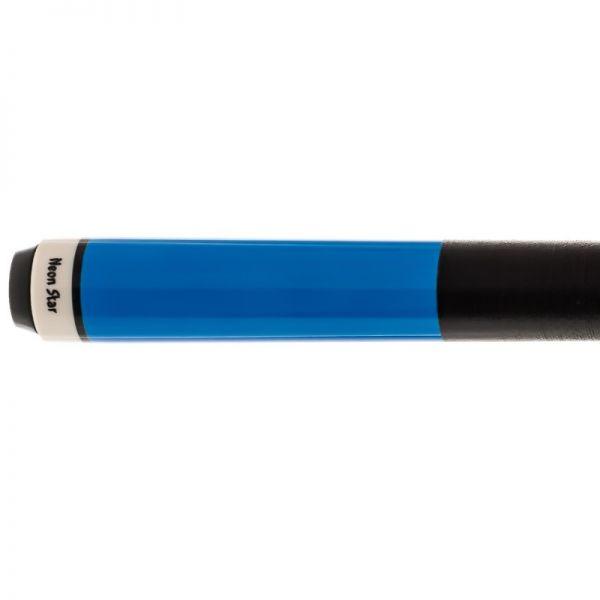 Pool Billard Queue Neon Star blau