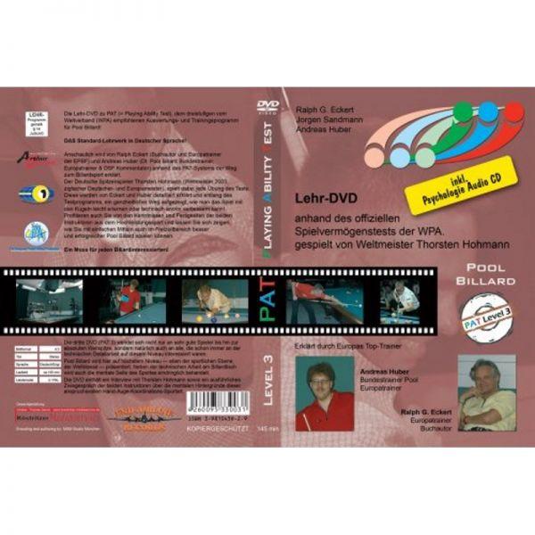 DVD Training PAT, Teil 3, Deutsch und Englisch