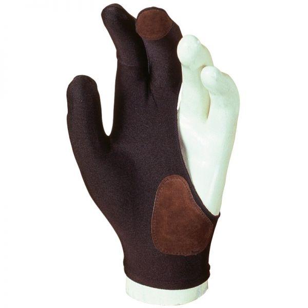 Handschuh Laperti für Rechtshänder, mit Lederaufsatz