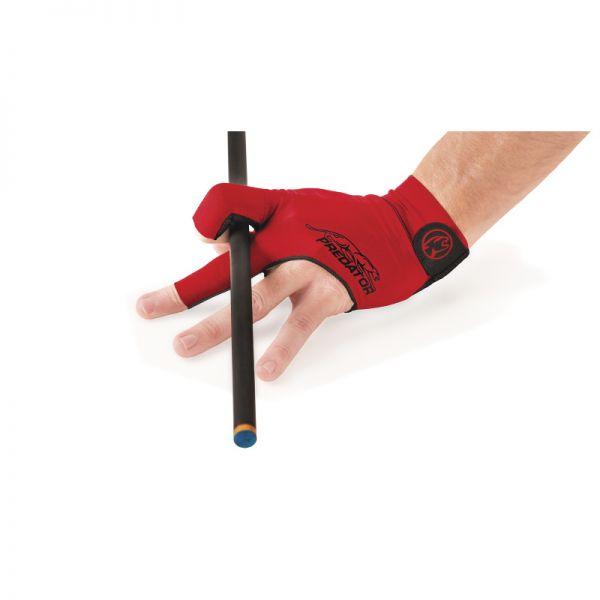 Handschuh Predator Second Skin, rot für Rechtshänder (linke Hand)