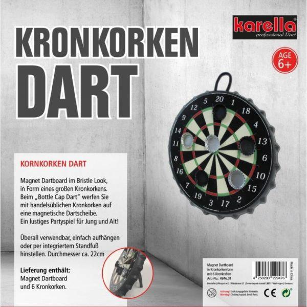 Kronkorken Dart Karella