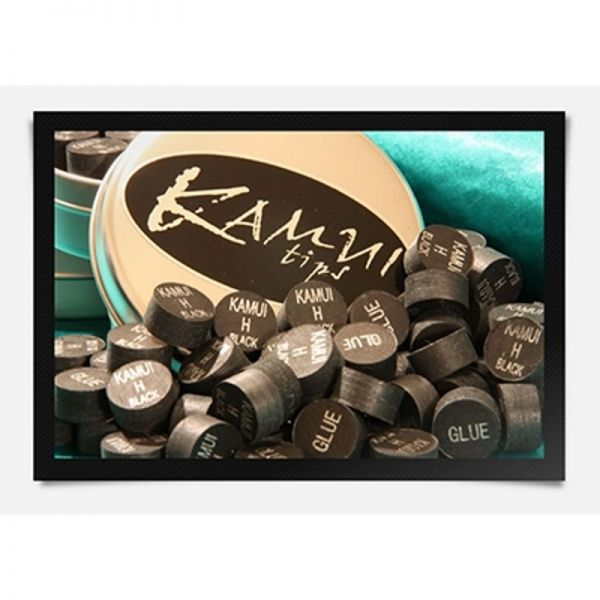 Klebeleder KAMUI ORIGINAL oder BLACK und CLEAR 14 mm